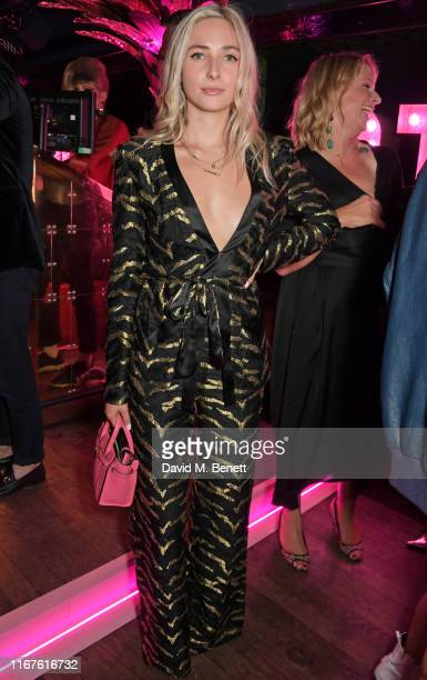 Dylan Weller attends the Agent Provocateur AW19 campaign launch party in collaboration with Sink The Pink and CIROC Vodka at Annabel's on September...