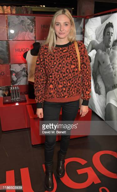 Dylan Weller attends the Hugo X Liam Payne Bodywear Campaign party at Flannels on December 4 2019 in London England