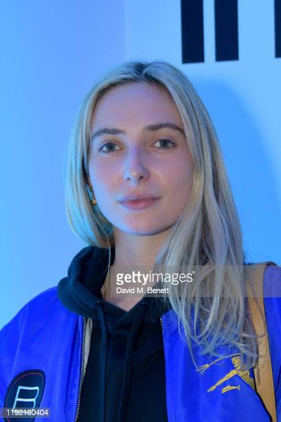 Dylan Weller attends the MyBeautyBrand launch with an exclusive event in partnership with Dazed Beauty on December 05 2019 in London England