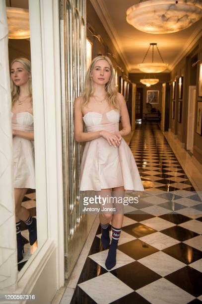 Dylan Weller attends the Roberta Einer dinner at Claridge's Hotel on February 13 2020 in London England