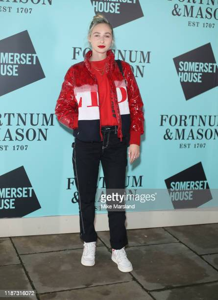 Dylan Weller attends the Skate At Somerset House With Fortnum Mason VIP launch party on November 12 2019 in London England