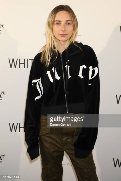 Dylan Weller attends the WHITE cocktail party hosted by Italian Trade Agency at Ambika P3 on November 23 2017 in London England