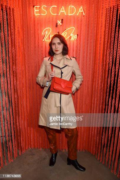 Dylana Suarez attends the launch of the ESCADA Heartbag by Rita Ora on March 27 2019 in New York City