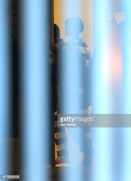 Dylann Storm Roof is seen as he is walked into the Charleston County Detention Center after being apprehended June 18 2015 in Charleston South...