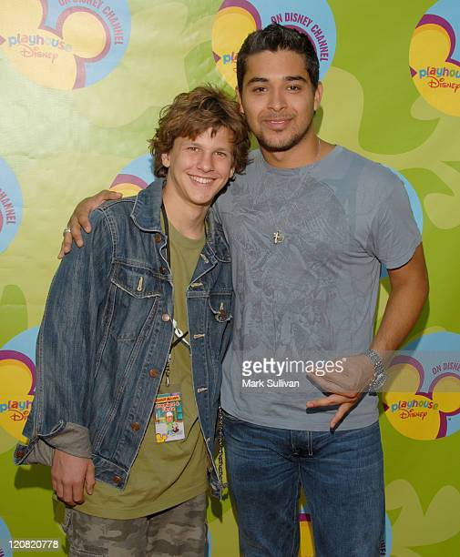 Dyllan Christopher and Wilmer Valderrama during Disney Channel Presents the Premiere of Handy Manny at ArcLight Theatre in Hollywood California...