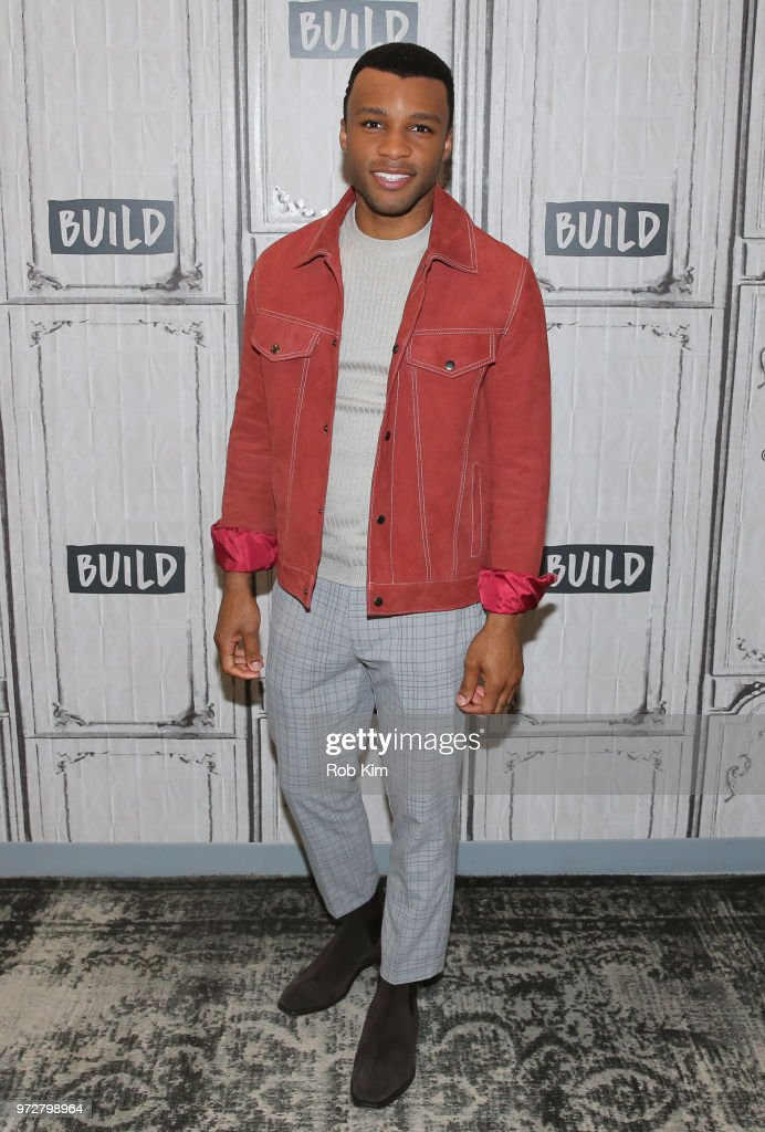 Dyllon Burnside attends the Build Series at Build Studio on June 12, 2018 in New York City.