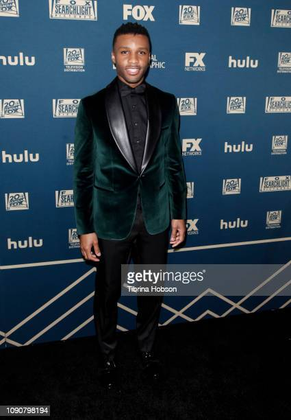 Dyllon Burnside attends the FOX FX and Hulu 2019 Golden Globe Awards after party at The Beverly Hilton Hotel on January 06 2019 in Beverly Hills...