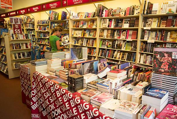 Dymocks Bookshop.