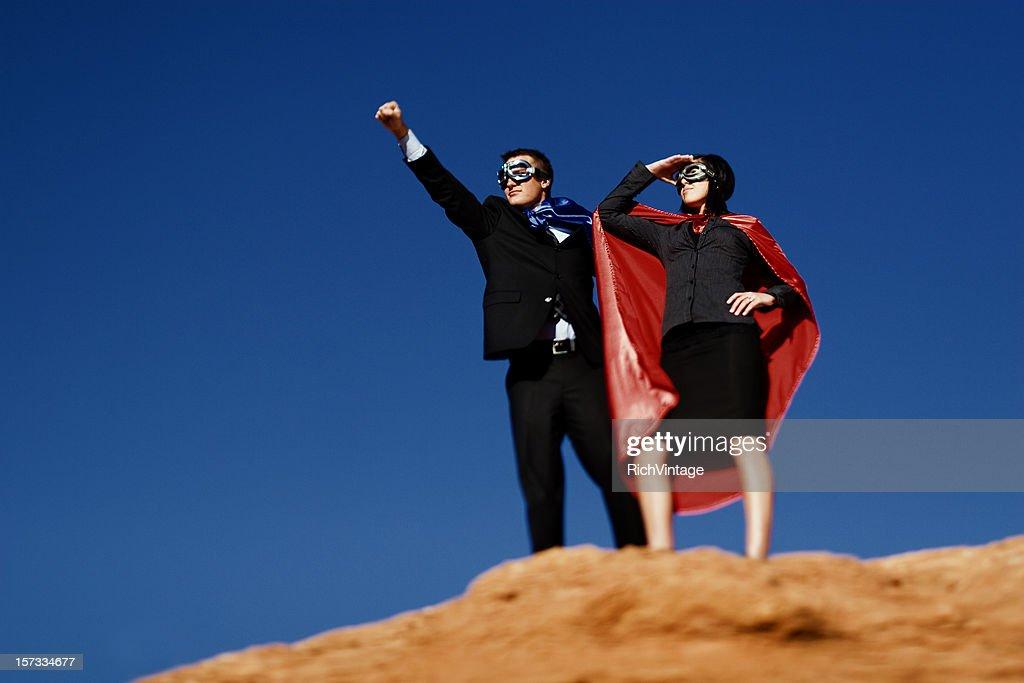 Dynamic Duo : Stock Photo