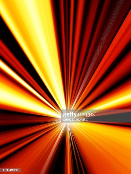 dynamic starburst light - lighting equipment stock pictures, royalty-free photos & images