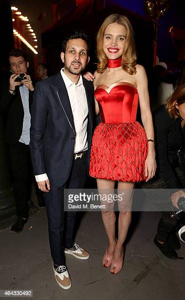 Dynamo and Natalia Vodianova attend the The World's First Fabulous Fund Fair hosted by Natalia Vodianova and Karlie Kloss in support of The Naked...