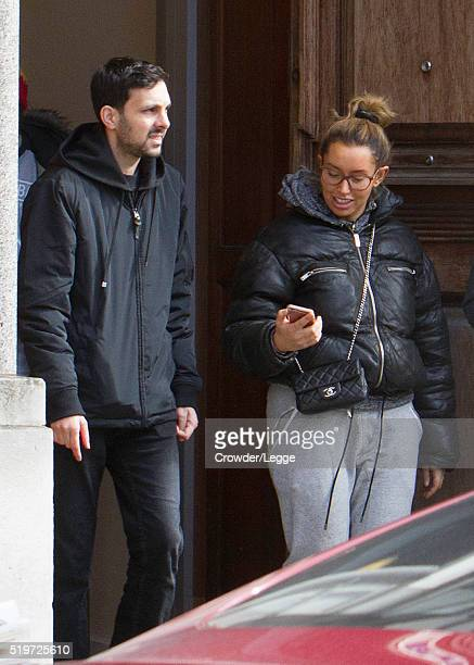 Dynamo and wife Kelly Frayne sighting on April 06 2016 in London England