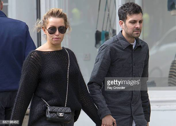 Dynamo and wife Kelly Frayne sighting on April 17 2016 in London England