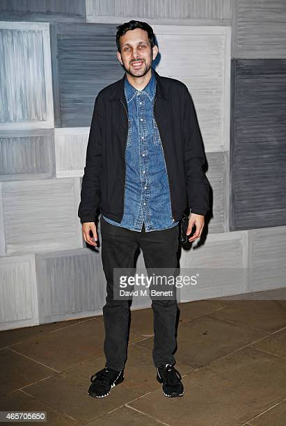 Dynamo arrives at a party hosted by Instagram's Kevin Systrom and Jamie Oliver This is their second annual private party taking place at Barbecoa on...