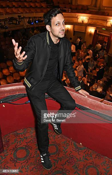 Dynamo attends an after party following the press night performance of 'Impossible' at the Noel Coward Theatre on July 30 2015 in London England