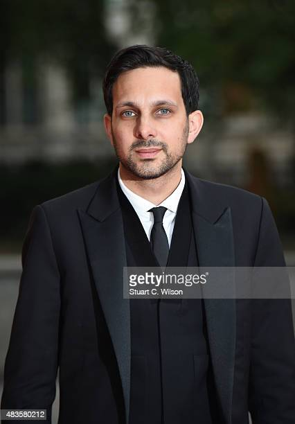 Dynamo attends the Believe in Magic Cinderella Ball at Natural History Museum on August 10 2015 in London England