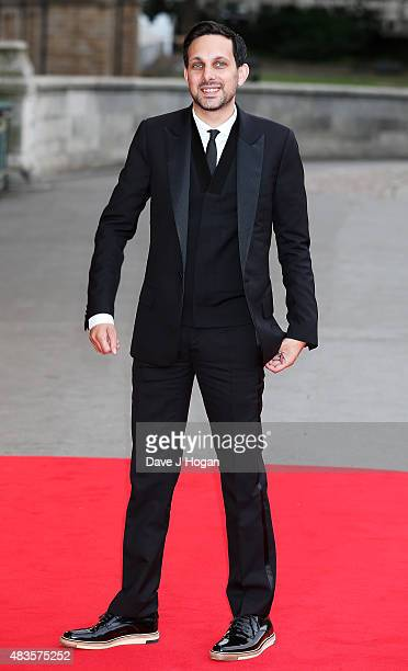 Dynamo attends the Believe in Magic Cinderella Ball at the Natural History Museum on August 10 2015 in London England