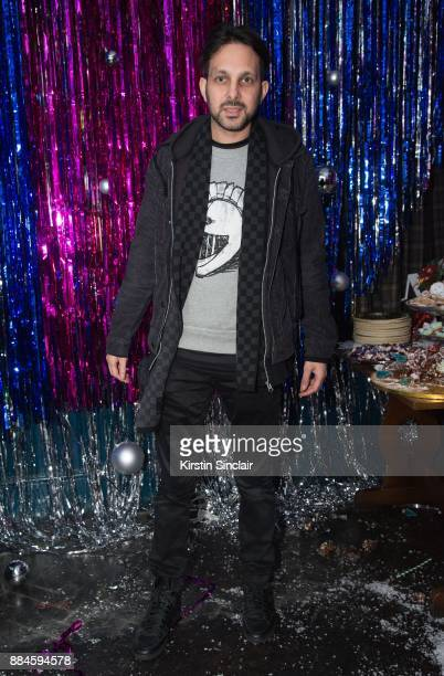 Dynamo attends the Burberry x Cara Delevingne Christmas Party on December 2 2017 in London England
