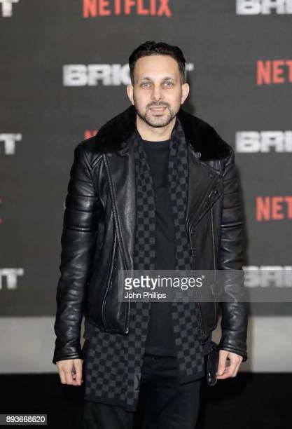 Dynamo attends the European Premeire of 'Bright' held at BFI Southbank on December 15 2017 in London England