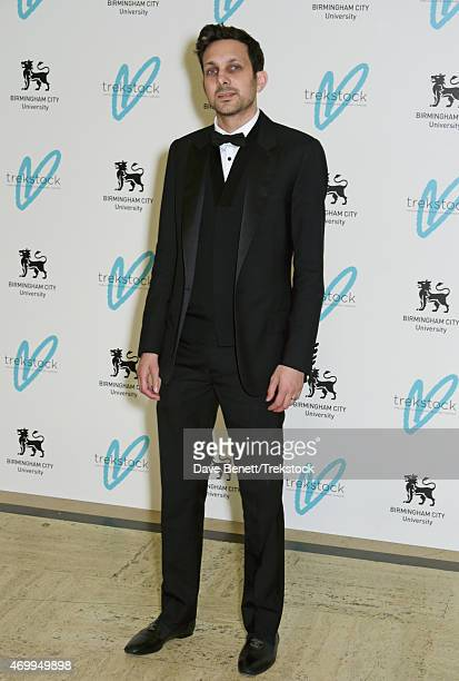 Dynamo attends The Great Gatsby Ball in support of Trekstock at Bloomsbury Ballroom on April 16 2015 in London England