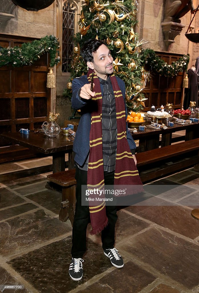 Dynamo attends the Launch Of Hogwarts In The Snow at Warner Bros. Studio Tour London on November 12, 2015 in Watford, England.