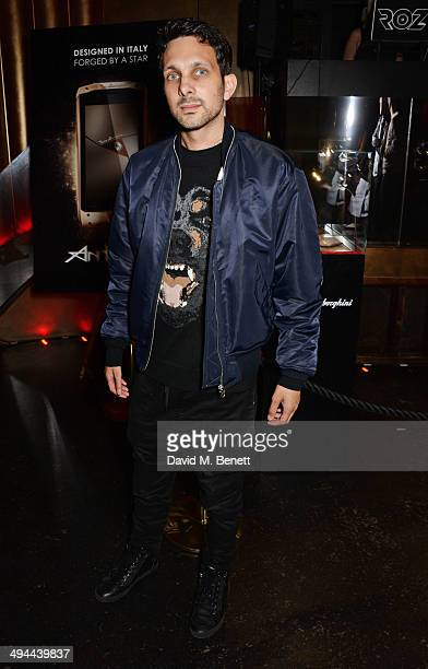 Dynamo attends the launch of the Tonino Lamborghini Antares Smartphone at No 41 Mayfair on May 29 2014 in London England