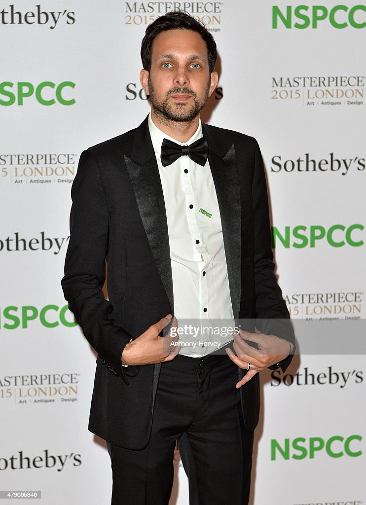 Dynamo attends the NSPCC Neo-Romantic Art Gala at Masterpiece London on June 30, 2015 in London, England.