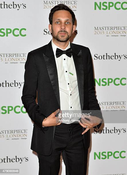 Dynamo attends the NSPCC NeoRomantic Art Gala at Masterpiece London on June 30 2015 in London England