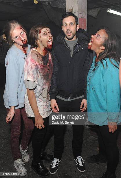 Dynamo attends the press night performance of 'The Generation Of Z Apocalypse' on April 21 2015 in London England