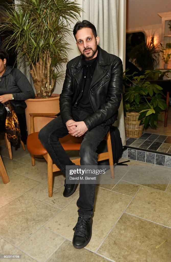 Dynamo attends the Topman LFWM party at Mortimer House on January 7, 2018 in London, England.