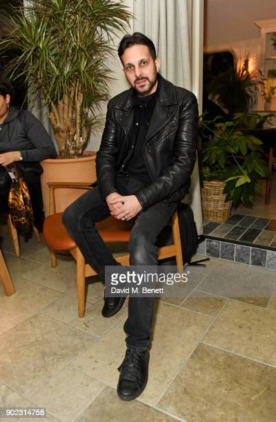 Dynamo attends the Topman LFWM party at Mortimer House on January 7 2018 in London England