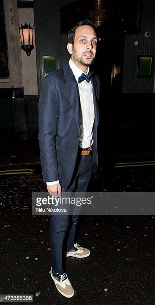 Dynamo is seen arriving at the Ivy restaurant Soho on May 14 2015 in London England