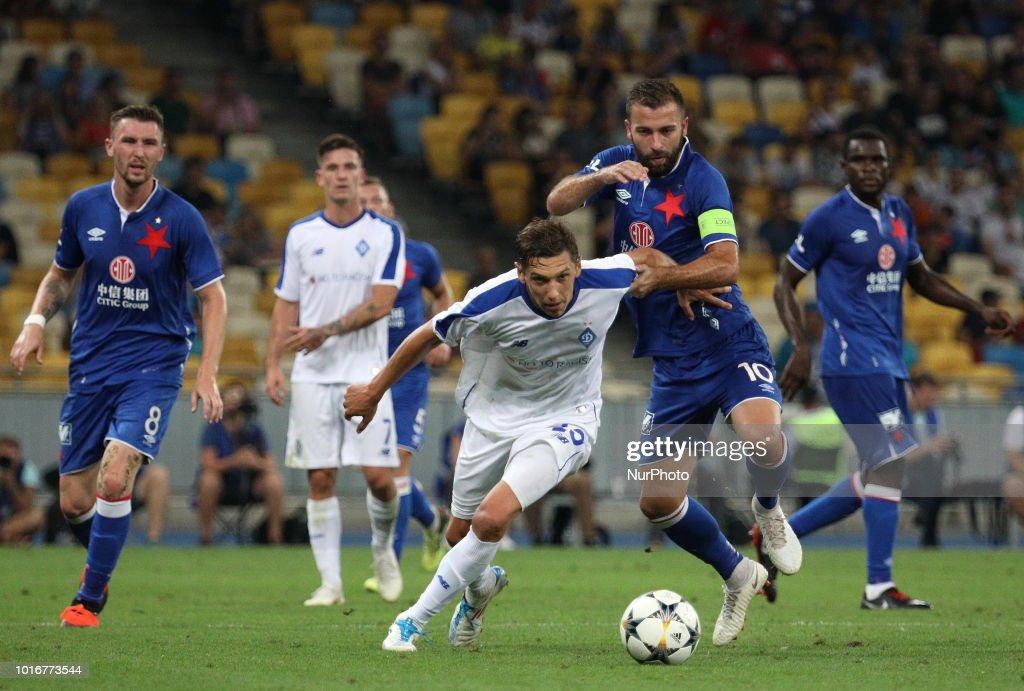 Dynamo Kyiv v Slavia Prague - Champions League Qualify