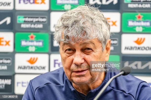 BEL: Club Brugge KV v Dinamo Kiev  - UEFA Europa League Round Of 32 Leg Two