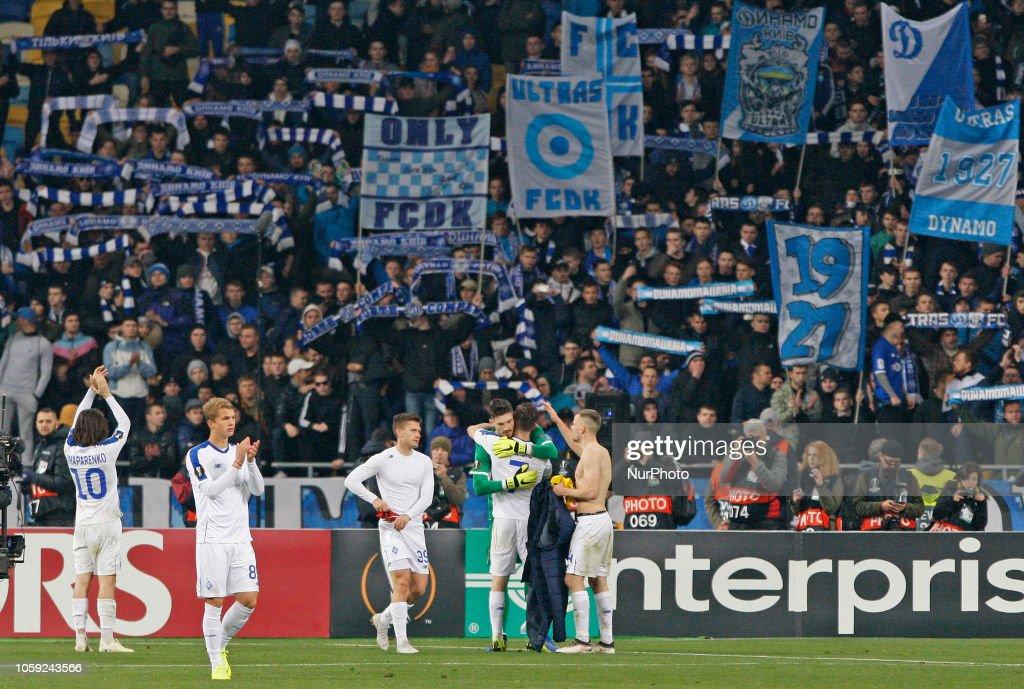 Dynamo Kyiv v Stade Rennais - UEFA Europa League : News Photo