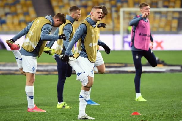UKR: Dynamo Kyiv v Villarreal - UEFA Europa League Round Of 16 Leg One