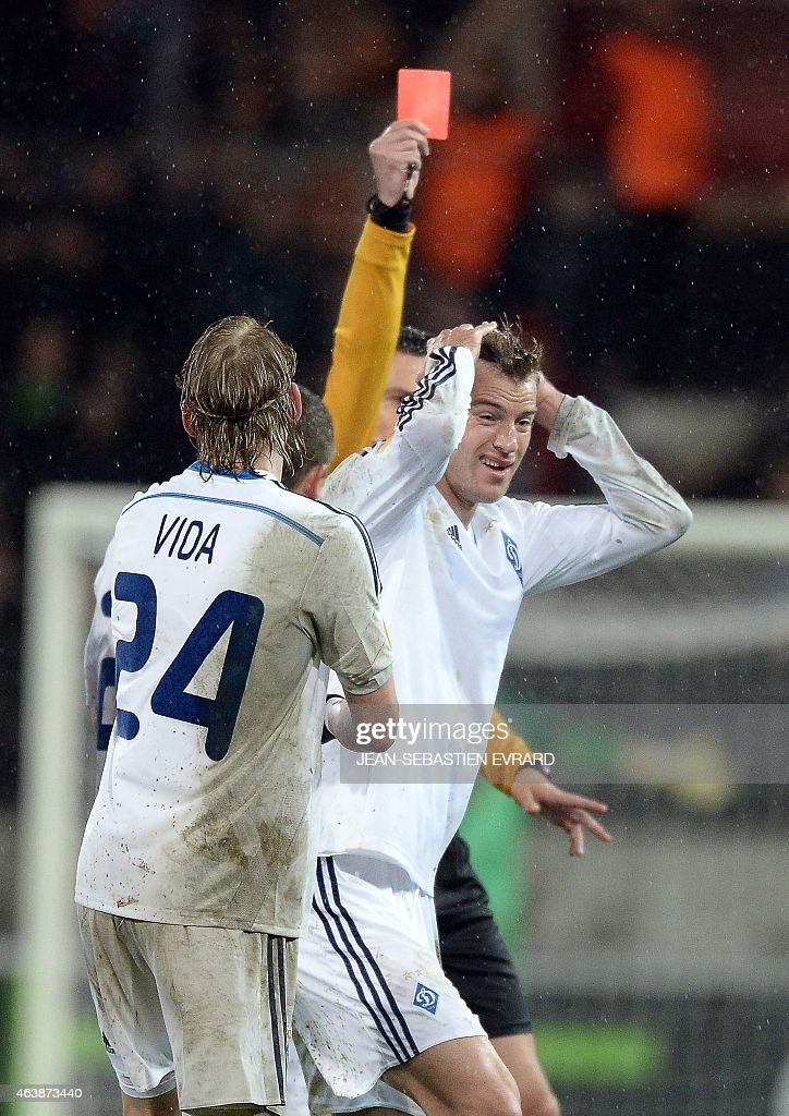 EA Guingamp v FC Dynamo Kyiv - UEFA Europa League Round of 32