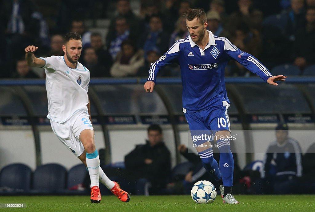 FC Porto v FC Dynamo Kyiv - UEFA Champions League : News Photo