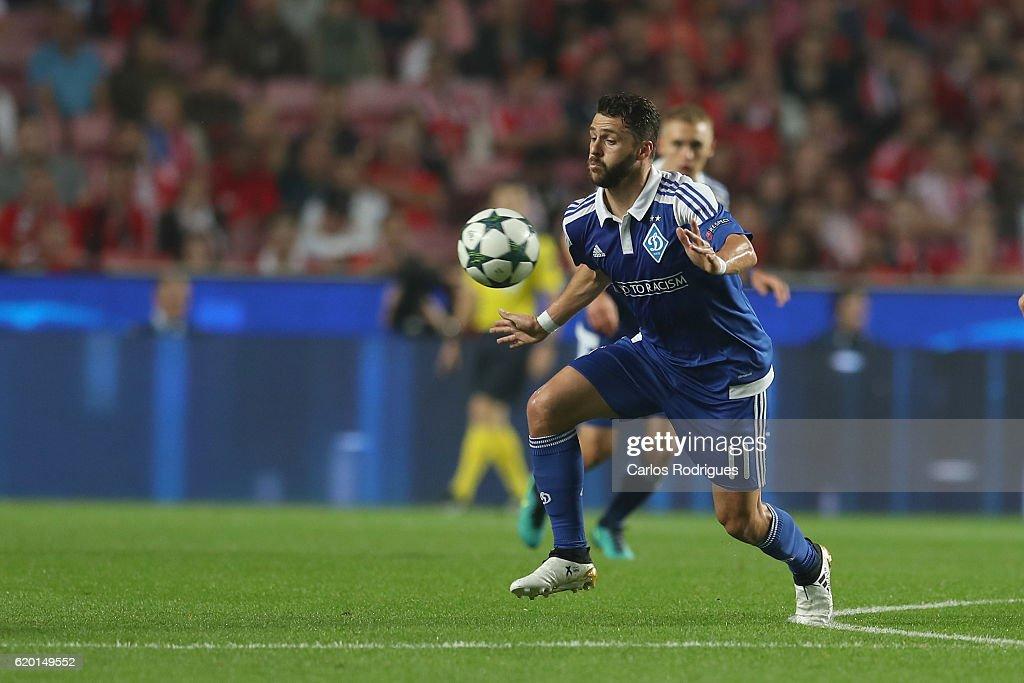 SL Benfica v FC Dynamo Kyiv - UEFA Champions League
