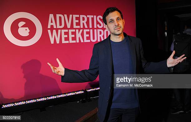 Dynamo Magician during the Facebook Creative Talks Creativity in a Connected World on the ITV stage at Advertising Week Europe 2016 at Picturehouse...