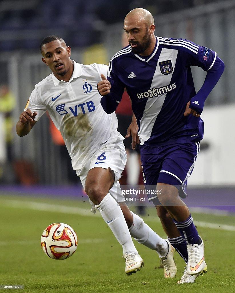 RSC Anderlecht v FC Dinamo Moskva - UEFA Europa League Round of 32
