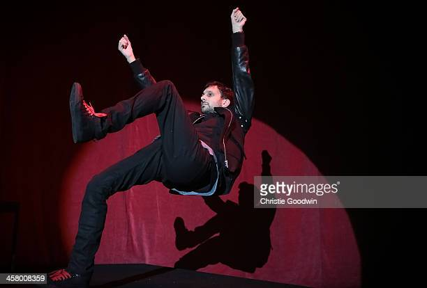 Dynamo performs at the 'Under 1 Roof' concert in aid of Kids Company at Hammersmith Apollo on December 19 2013 in London England