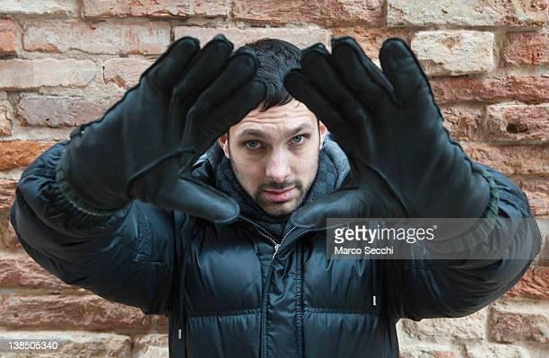 Dynamo poses during a Portrait Session in Venice on February 07 2012 in Venice Italy