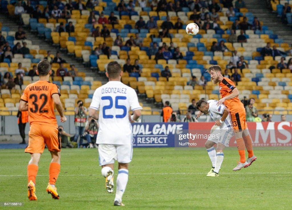 FC Dynamo Kiev v  KF Skenderbeu - UEFA Europa League