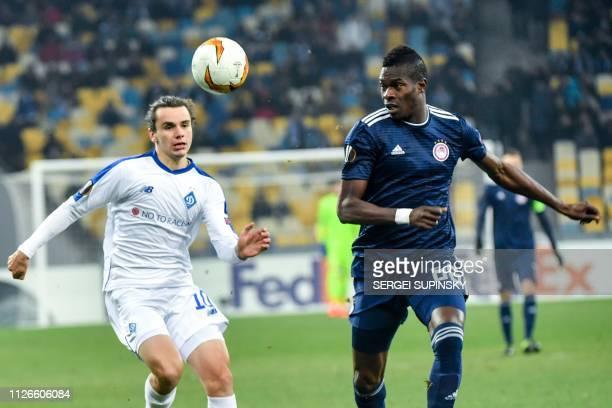 UKR: Dynamo Kyiv v Olympiacos - UEFA Europa League Round of 32: Second Leg