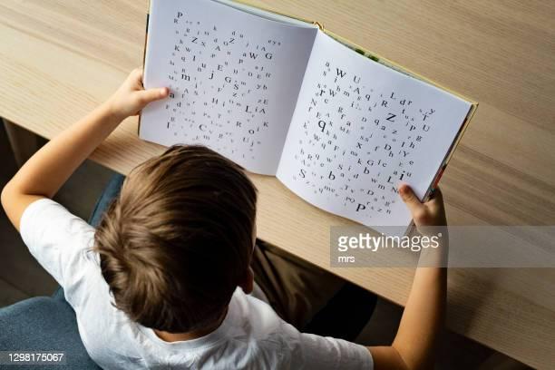 dyslexia - autism stock pictures, royalty-free photos & images