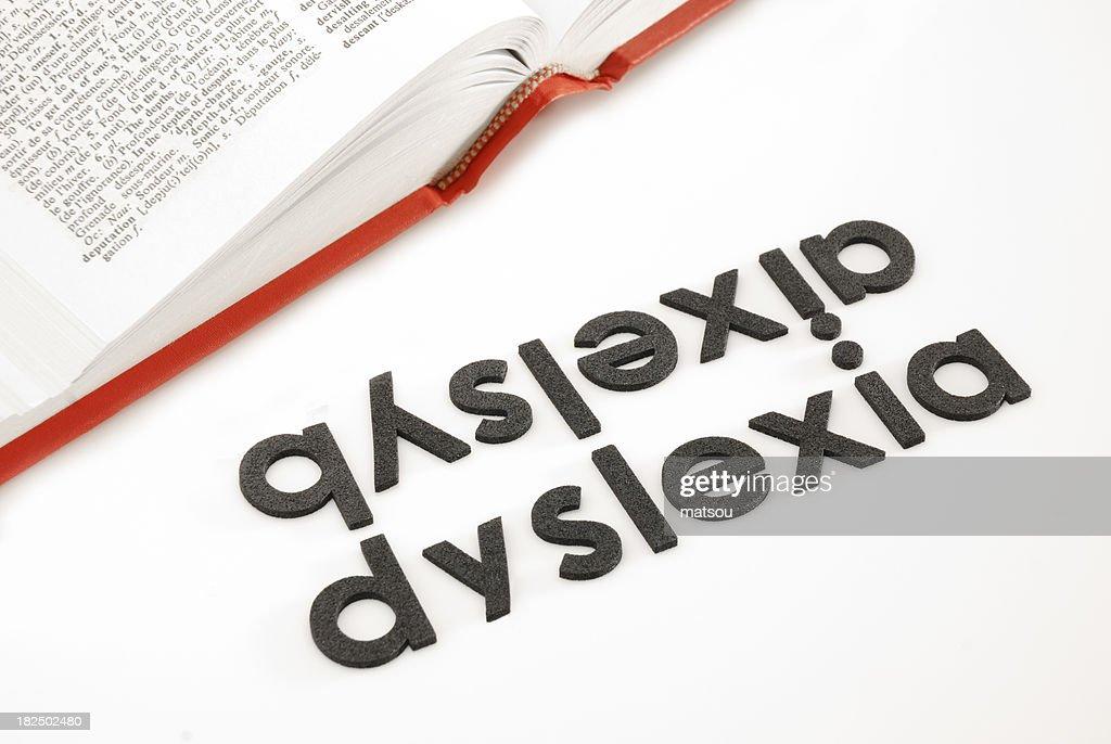 Dislessia : Foto stock