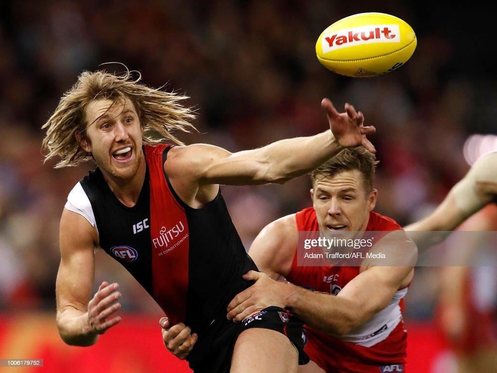AFL Rd 19 - Essendon v Sydney : News Photo