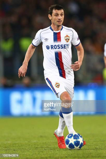 Dzagoev Alan of PFC CSKA Moscow during the UEFA Champions League group G match between AS Roma and PFC CSKA Moscow at Stadio Olimpico on October 23...