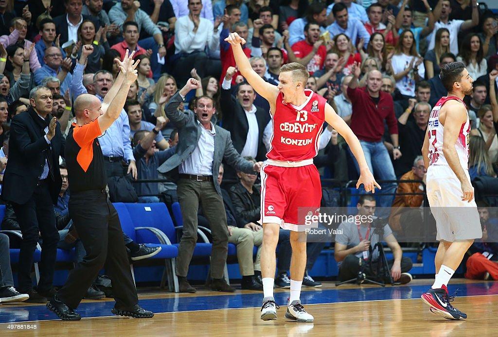Cedevita Zagreb v Olympiacos Piraeus - Turkish Airlines Euroleague : News Photo